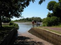 ADELAIDE RIVER , JUMPING CROC BOAT RAMP